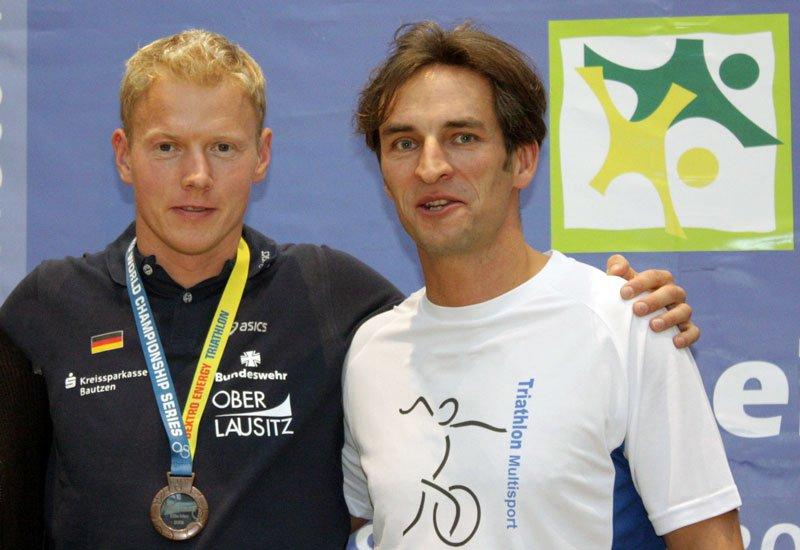 Maik Petzold, Triathlet mit Mathias Priebe
