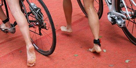 Tipp für einen schnellen Wechsel im Triathlon