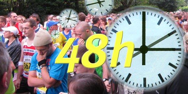 48 Stunden bis zum Marathon-Start