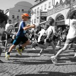 richtige Lauftechnik bei Kindern abschauen