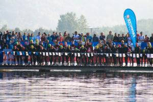 Triathlon Schwimmstart Startsprung