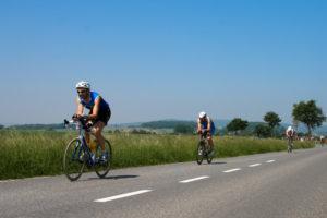 Triathlon - Windschatten-Verbot