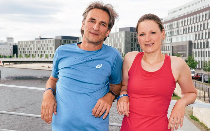Trainerteam Anke und Mathias