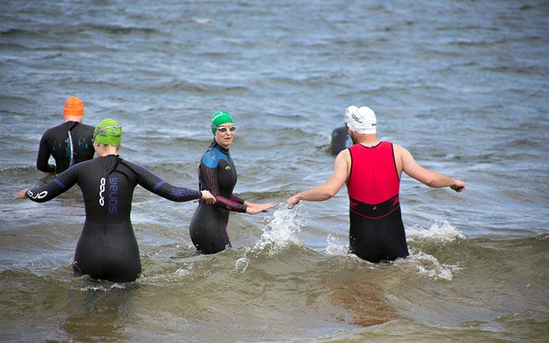 Freiwasserschwimmen Training
