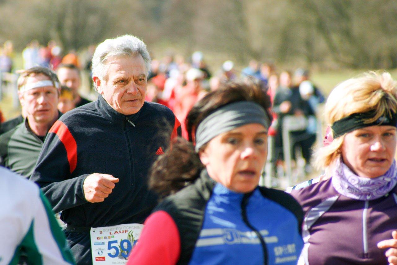 Marathon in deiner Bestzeit Ü60