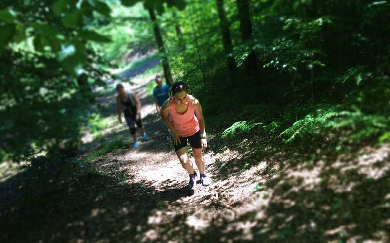 Christina beim Laufen