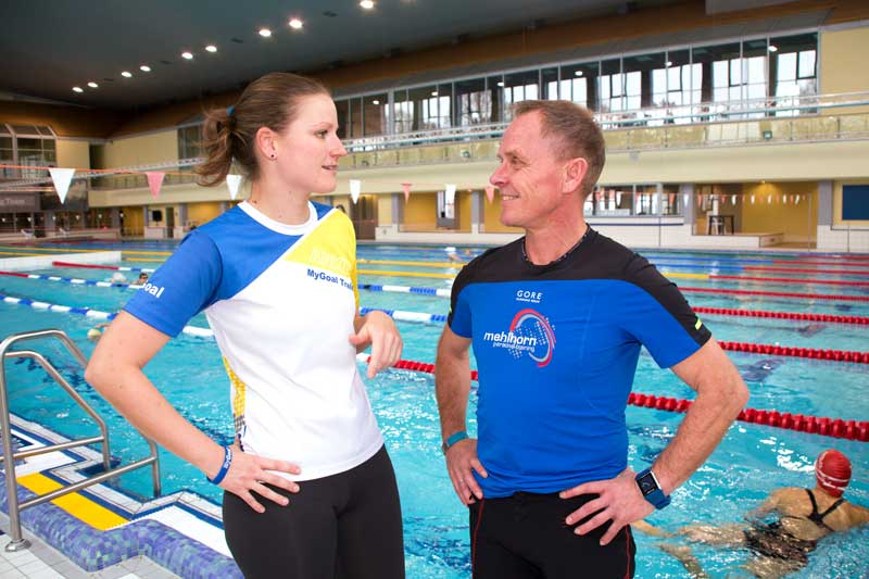 Schwimmseminar Trainerteam Anke und Reiner