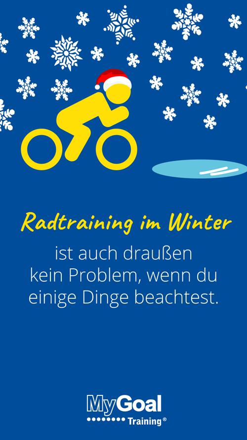 5. Türchen: Radtraining im Winter | MyGoal Training