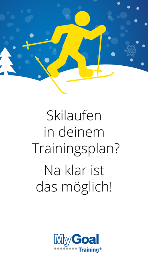 21. Türchen: Skilaufen im Trainingsplan | MyGoal Training