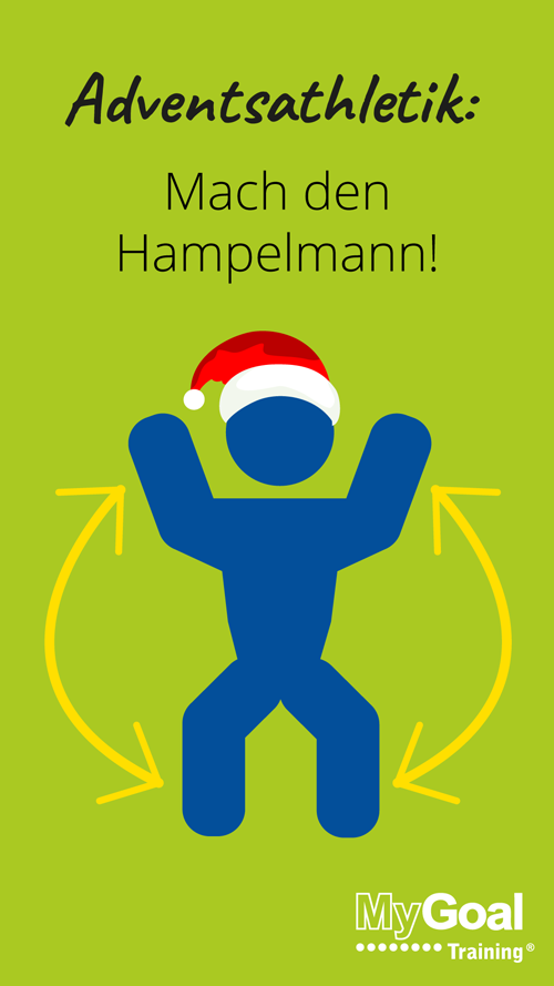 22. Türchen: Adventsathletik Hampelmann | MyGoal Training